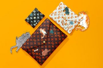 Feline Fashion: Louis Vuitton X Grace Coddington