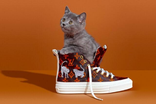 Feline Fashion: Louis Vuitton X Grace Coddington
