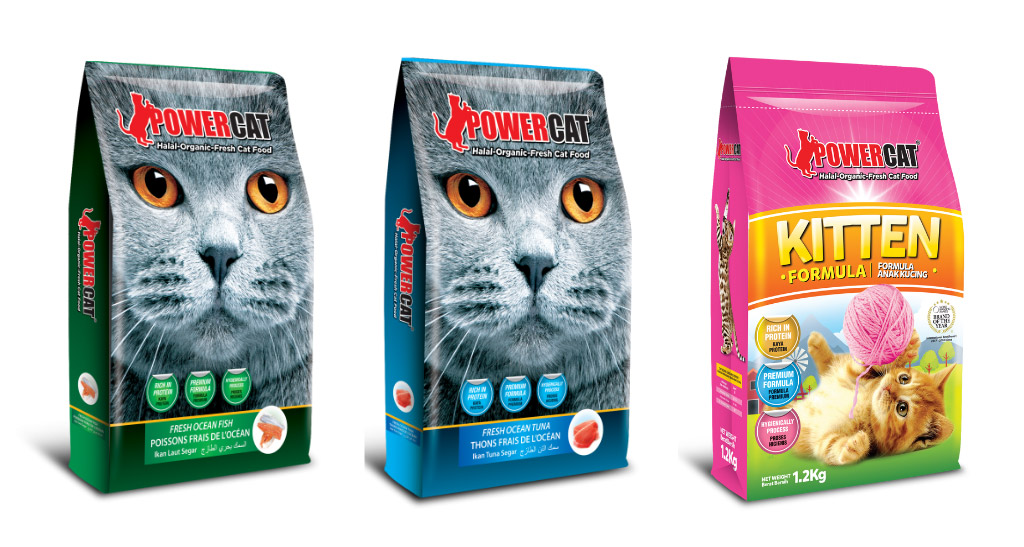 PowerCat - The Premium Halal Dry Cat Food for Busy Cat Owners