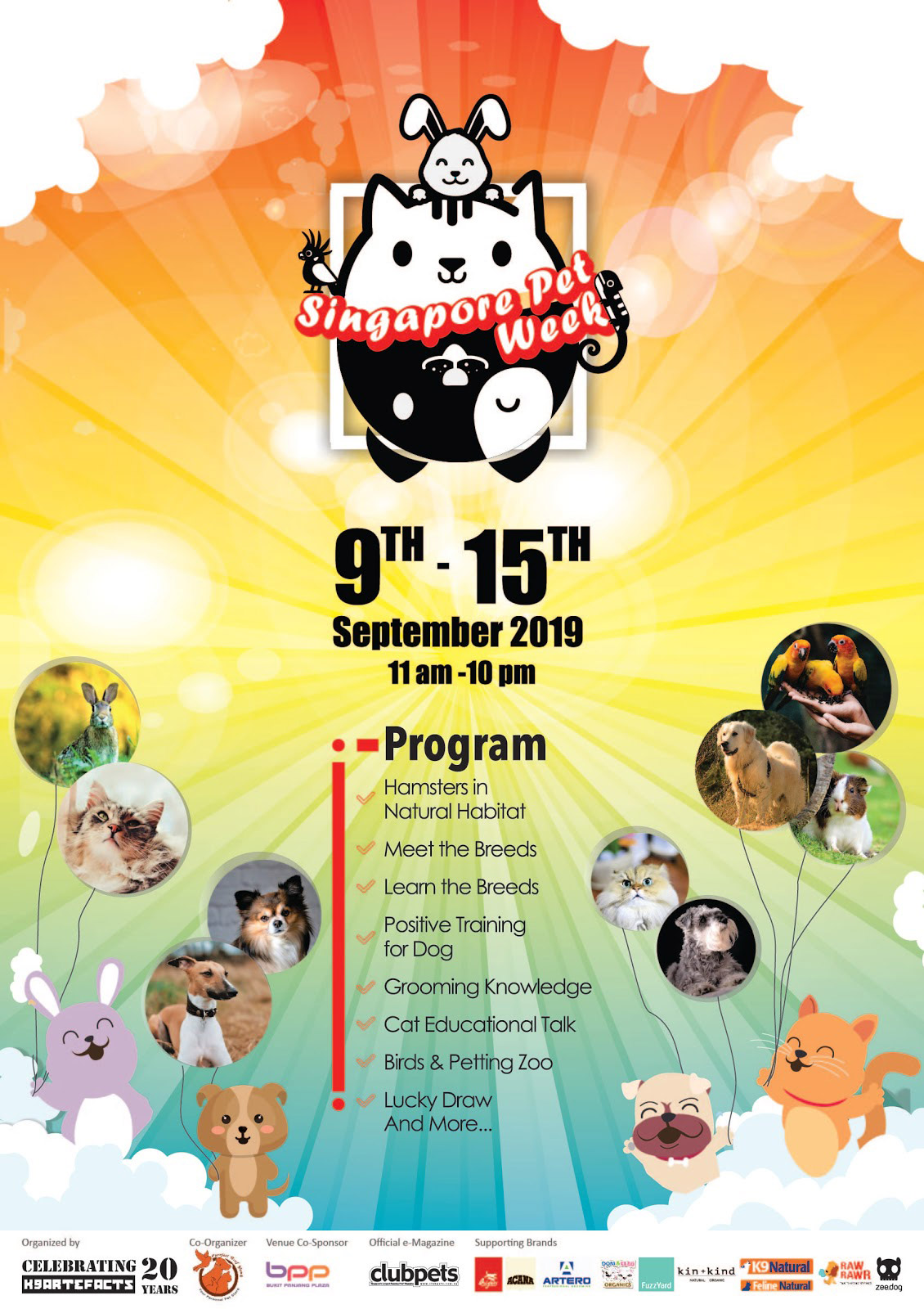 Win Prizes, Meet Furry Friends & Learn About Dog Breeds at Singapore Pet Week 2019!