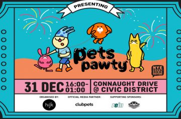 Welcome 2020 with an NYE Countdown & Fireworks at Unwind @ Civic District: Pets Pawty